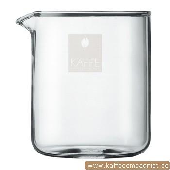 Reservglas 0,5 - 4-koppars