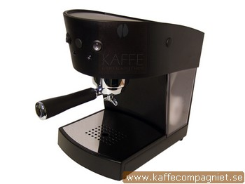Espressomaskin, Ascaso Basic, Svart