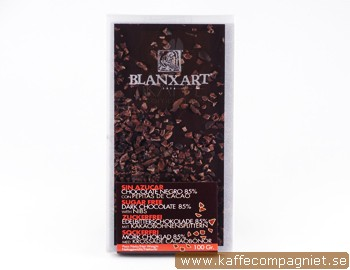 Chokladkaka 85% SOCKERFRI med nibs