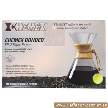 Chemex Filter 100 st, 3-kopp