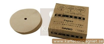 Hario Papperfilter till Sifon 100-pack