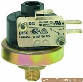 Pressostat XP110 (D45X), 1/8, ca 10 mm