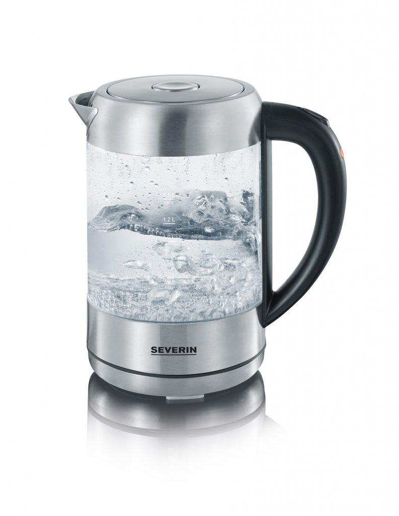 Vattenkokare i glas (S)