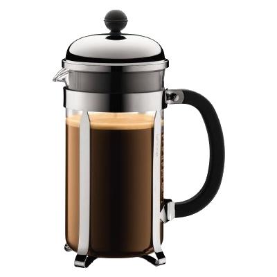 4 dl rostfritt stål kaffebryggare Gas elektrisk induktion italiensk Espresso dubbla Filter