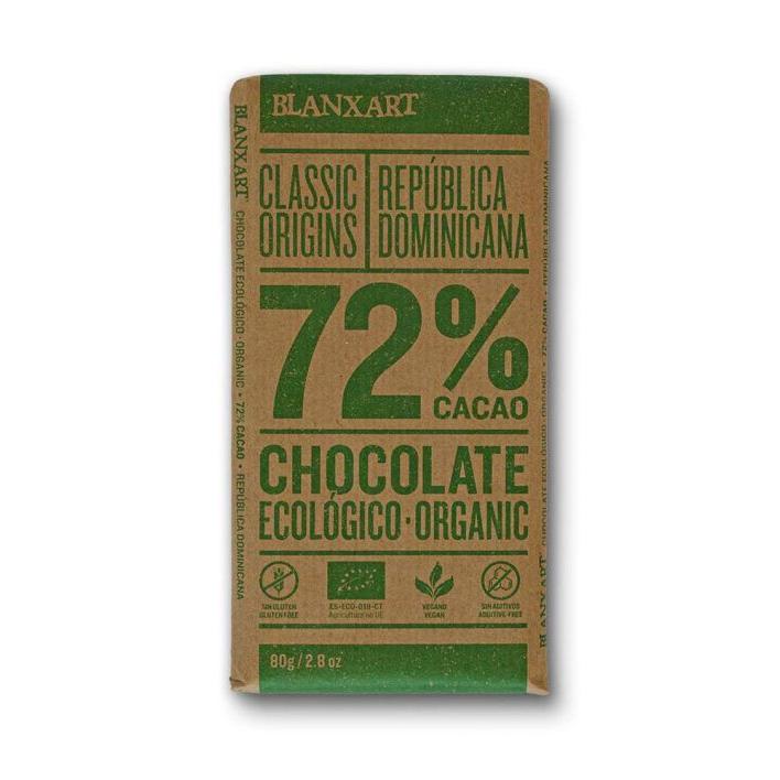 Chokladkaka Ekologisk 72%, 80 gr
