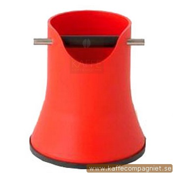 Knockbox Compact Design 175 mm, Röd