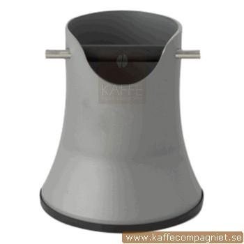 Knockbox Compact Design 175 mm, Silvergrå