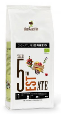 J&N 5th Estate Organic Espresso 500 gr