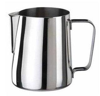 Mjölkkanna, skumning av mjölk. milk pitcher