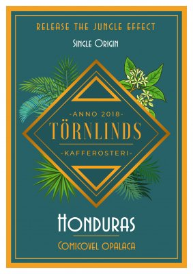 Kaffbönor Törnlinds Honduras Comicovel
