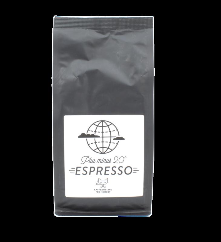 Espresso per nordby kaffecompagniet