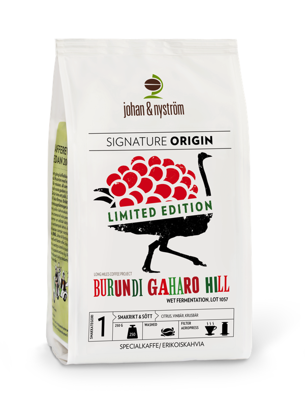 BURUNDI GAHARO HILL - WET FERMENTATION
