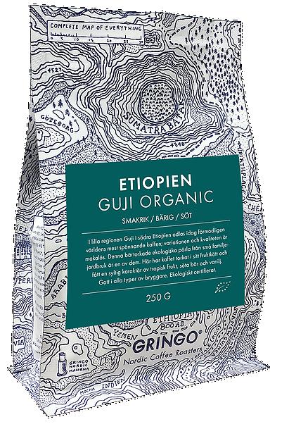 gringo nordic etiopien guji bönor 250 gr