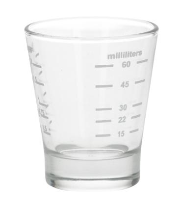 shotglas med gradering upp till 6 cl