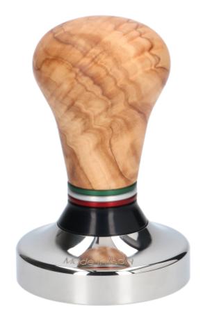 tamper oliv rostfri 58 mm