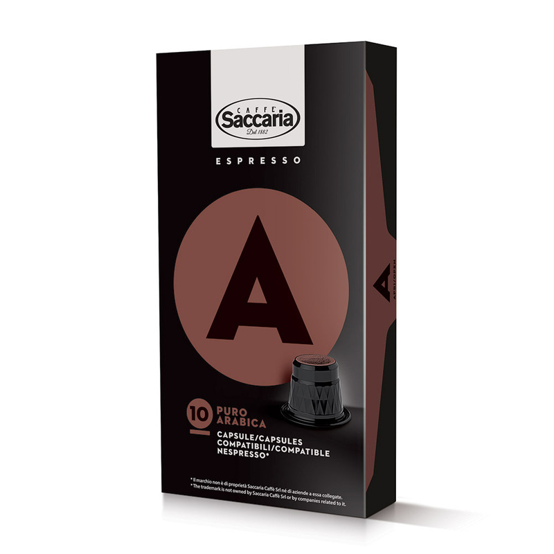 saccaria nespresso kapslar nespressokapslar puro arabica cremoso intenso