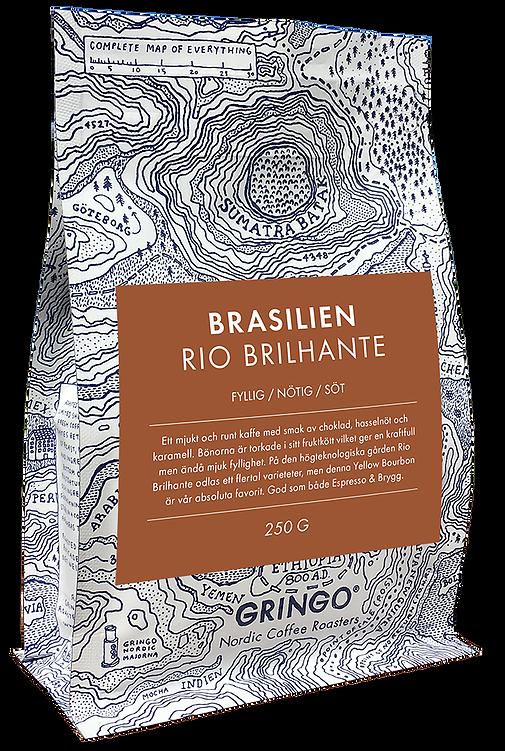 coffee rio brilhante gringo