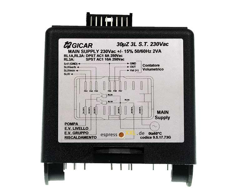 Kontrollbox BZ07DE / BZ13DE