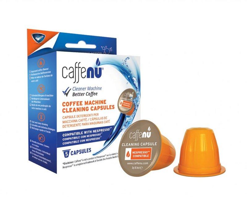 Caffenu rengöringskapslar nespresso rengöring vård