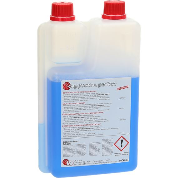 cappuccinoperfect mjölkrengöring mjölkskummare rengöring