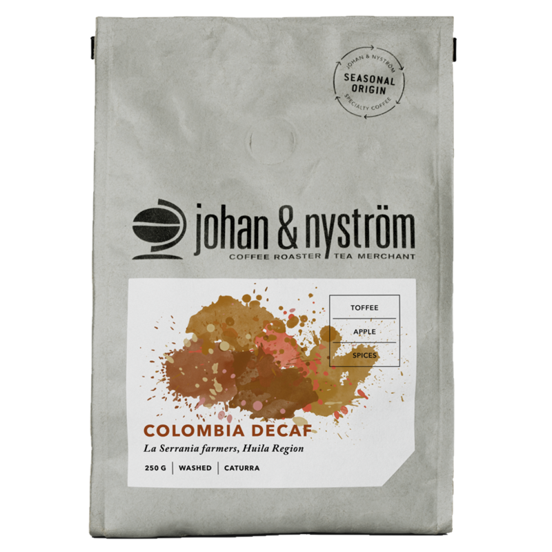 J&N Colombia Decaf Single Origin 250 gr