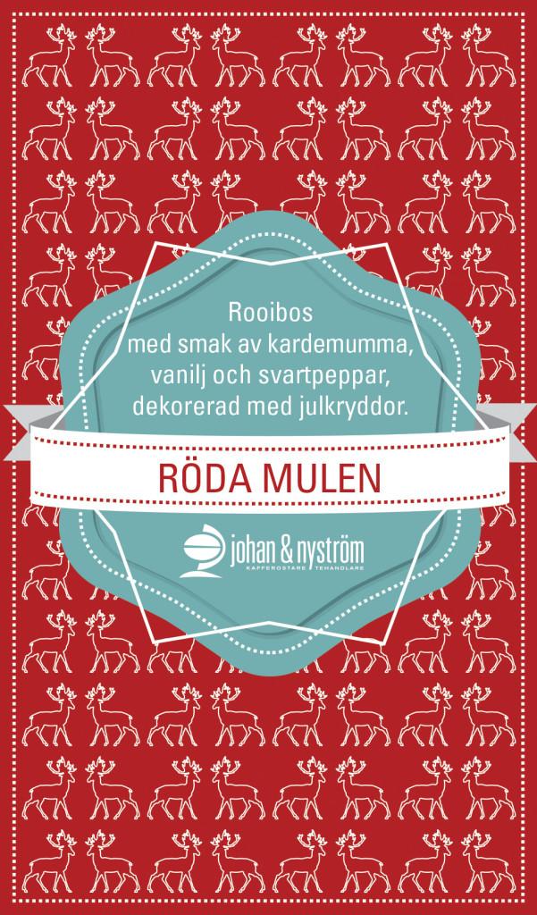Julte, Röda Mulen, Johan & Nyström