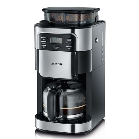 Severin, Severin KA4810, KA4810, kaffebryggare, kaffebryggare med kvarn, Kaffekvarn, kvarnbryggare