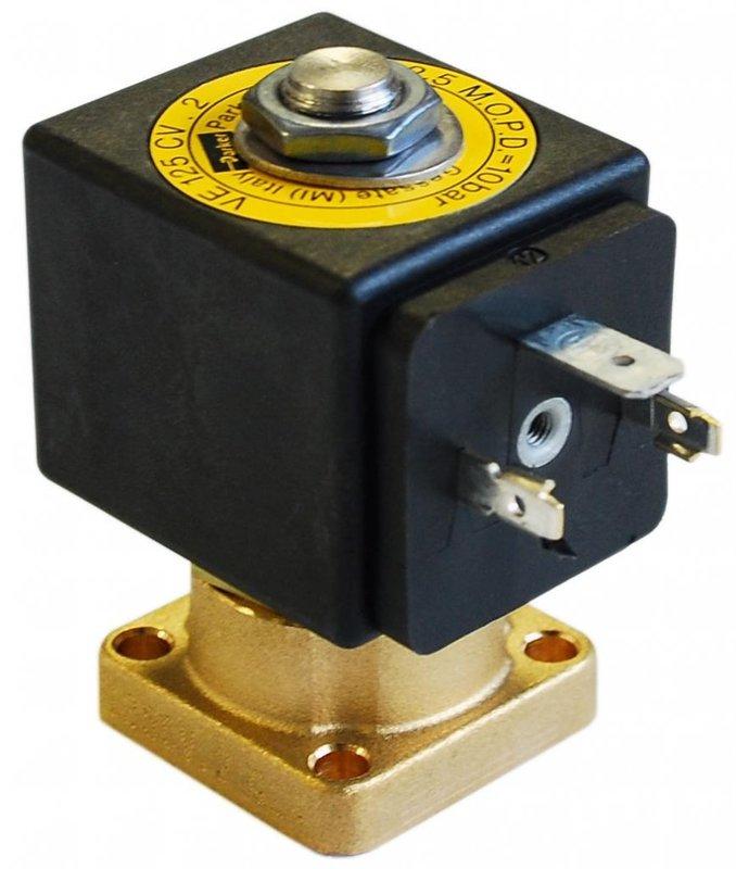 parker 2-vägs magnetventil solenoid