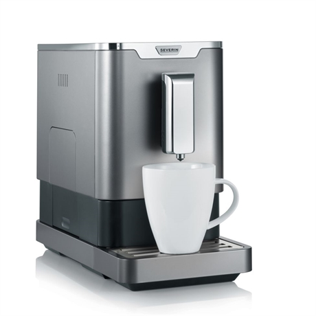 Severin KV8090, Helautomatisk espressomaskin, bryggare, espresso, Severin, KV 8090, KV8090, Kaffe