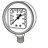 Manometer, Tryckregulator