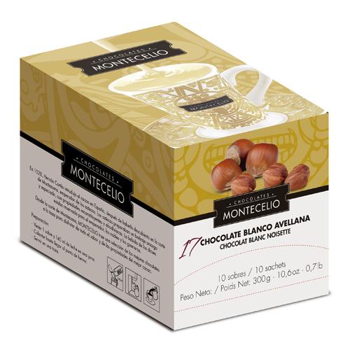 Drickchoklad, Vit choklad & hasselnöt - 100 st