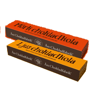 Åre Mörk chokladkola i ask