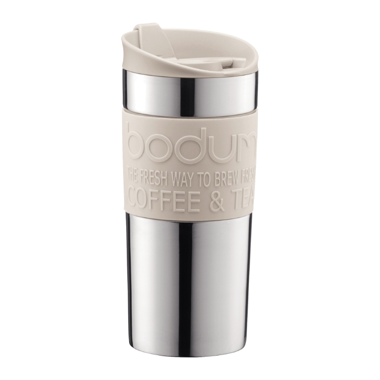 Bodum Travel Mug, Off white