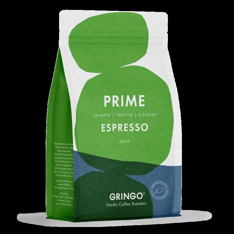 Gringo Prime Espresso Kaffebönor
