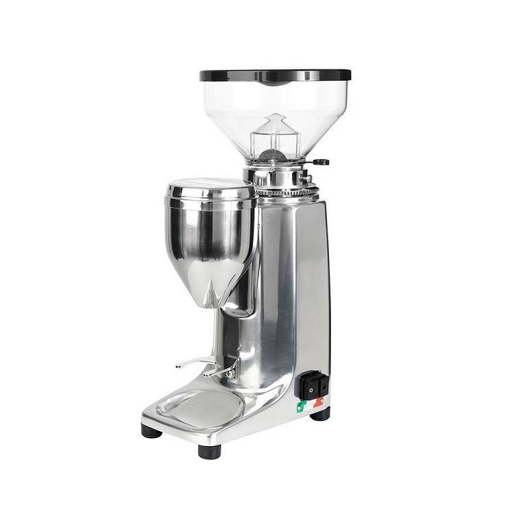Quamar q50. Polished alu, espressokvarn, coffee grinder