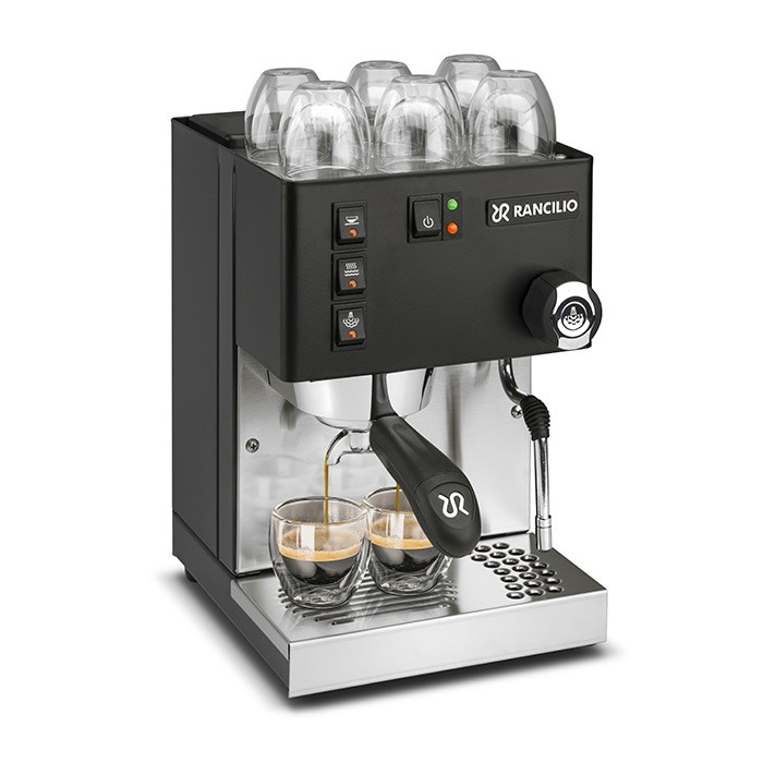 Rancilio Silvia E Black silvio rancilo kaffecompagniet espressomaskin svart