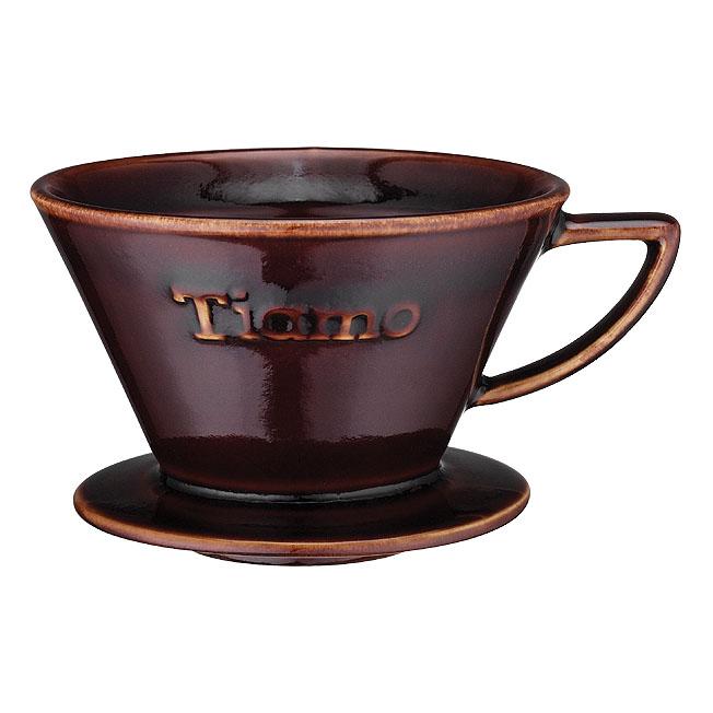 Tiamo k02 v60 pappersfilter filterhållare kaffebryggning