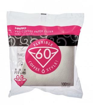 Hario V60 O3, Pappersfilter Hario