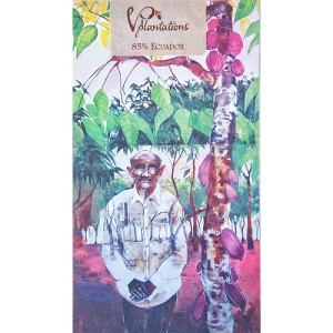 Vintage Plantations choklad, mörk choklad 85%