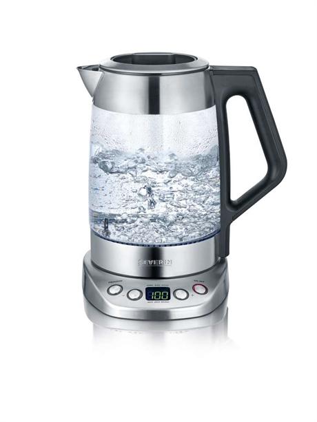 severin vattenkokare rostfri design kapacitet på 1 liter